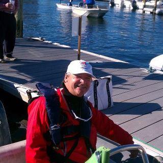 Paul on dock_St Petersburg 2013